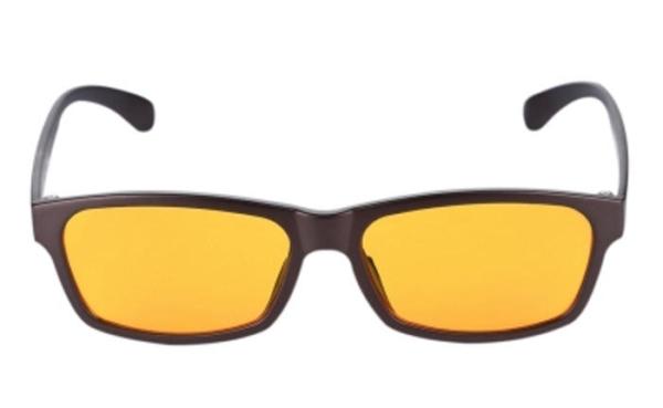blaulichtfilter brille für den alltag mit 95% filtergrad frontansicht