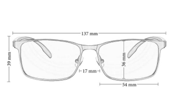 blaulichtfilter brille pc arbeit maße